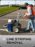 Line Striping Removal